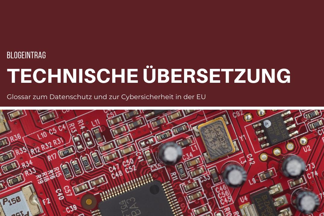 Glossar zur Cybersicherheit Deutsch – Spanisch