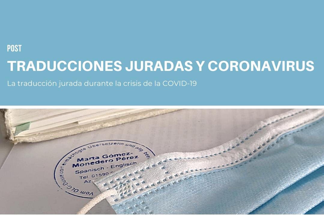 traducciones juradas y coronavirus