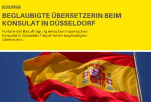 beglaubigte Übersetzerin beim Konsulat Düsseldorf