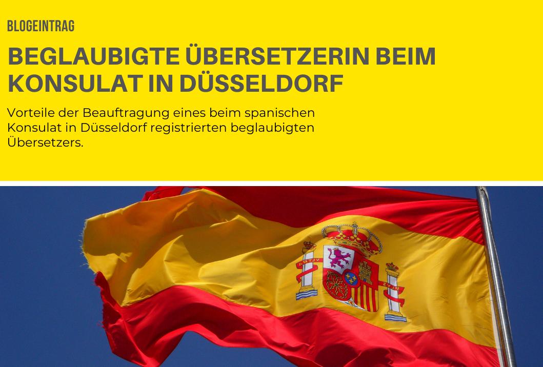 Beglaubigte Übersetzerin beim Konsulat in Düsseldorf